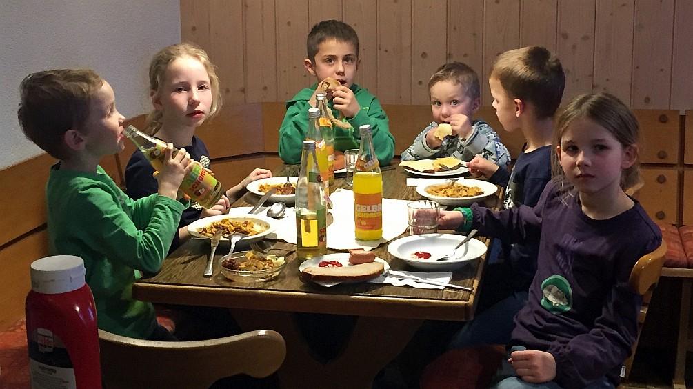 Familienwochenende im Franz Keller Haus auf dem Kalten