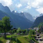 Blick in die Berglandschaft